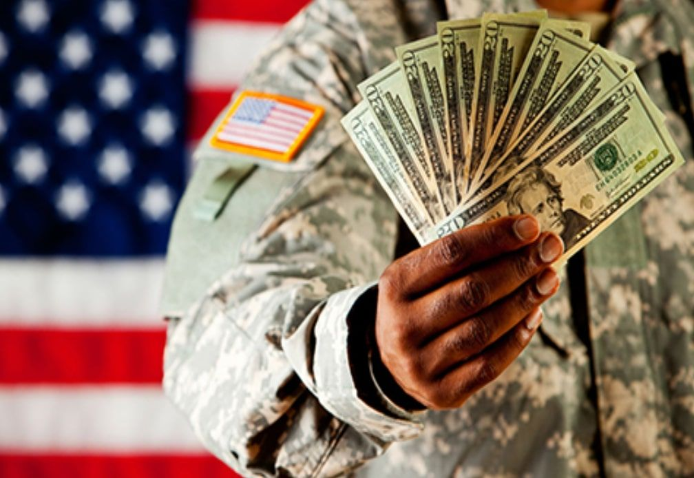 Military Pay Chart 2020