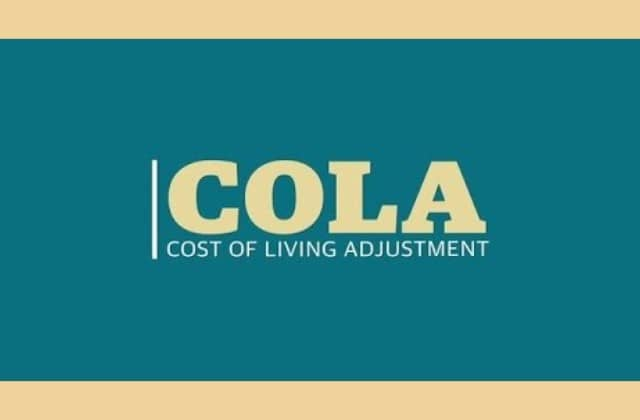 COLA Rates 2021